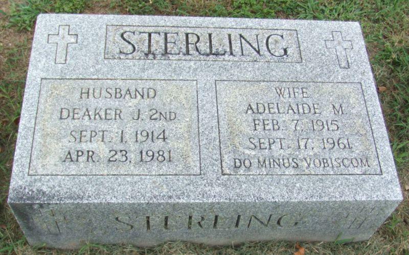 Adelaide M. Sterling