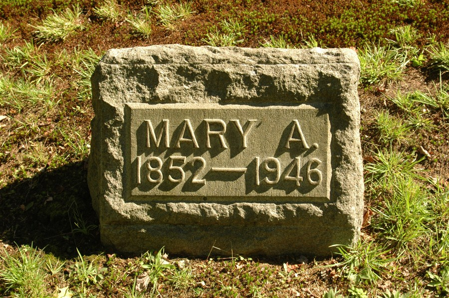 Mary A. <i>Russell</i> Beck