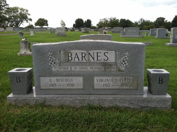 Virginia Dare <i>Pitcock</i> Barnes