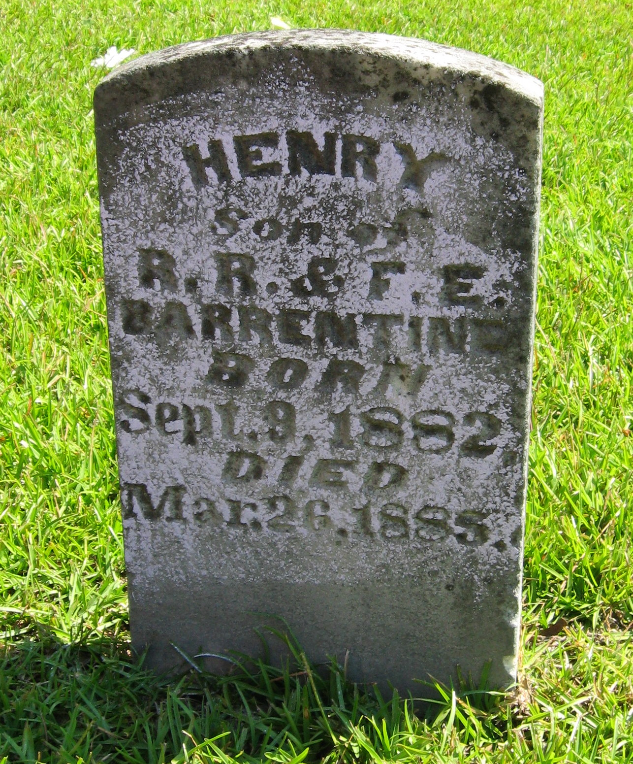 Henry Barrentine