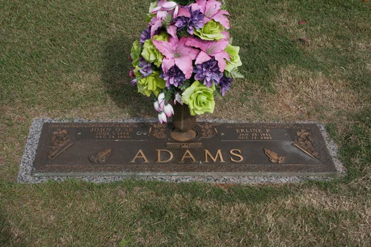 Mattie Erline <i>Patrick</i> Adams