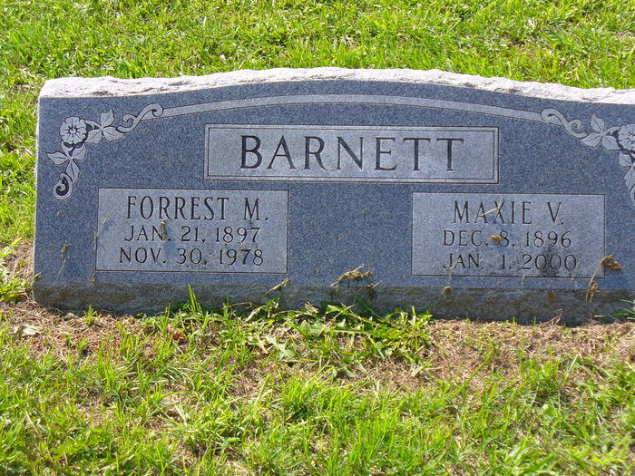 Forrest Milo Bud Barnett