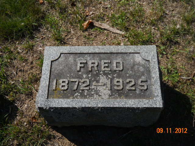Fred Rogers 1871 1925 Find A Grave Memorial