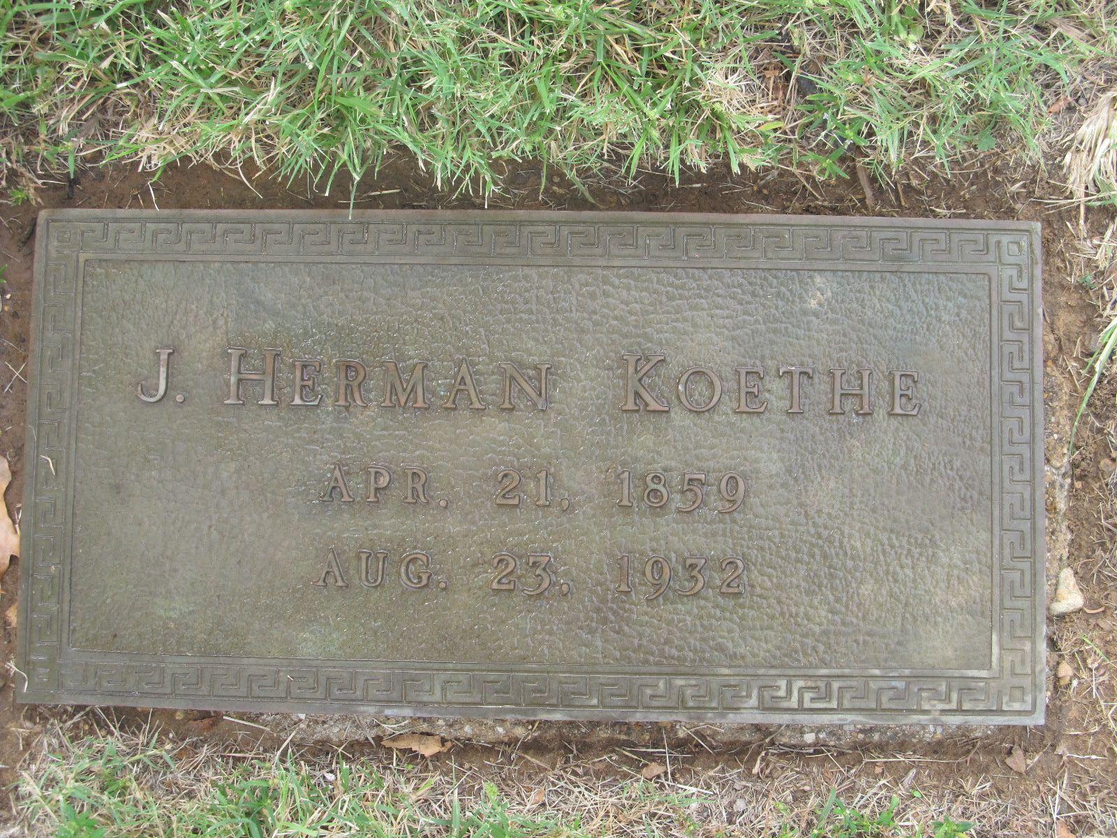 John Hermann Herman Koethe