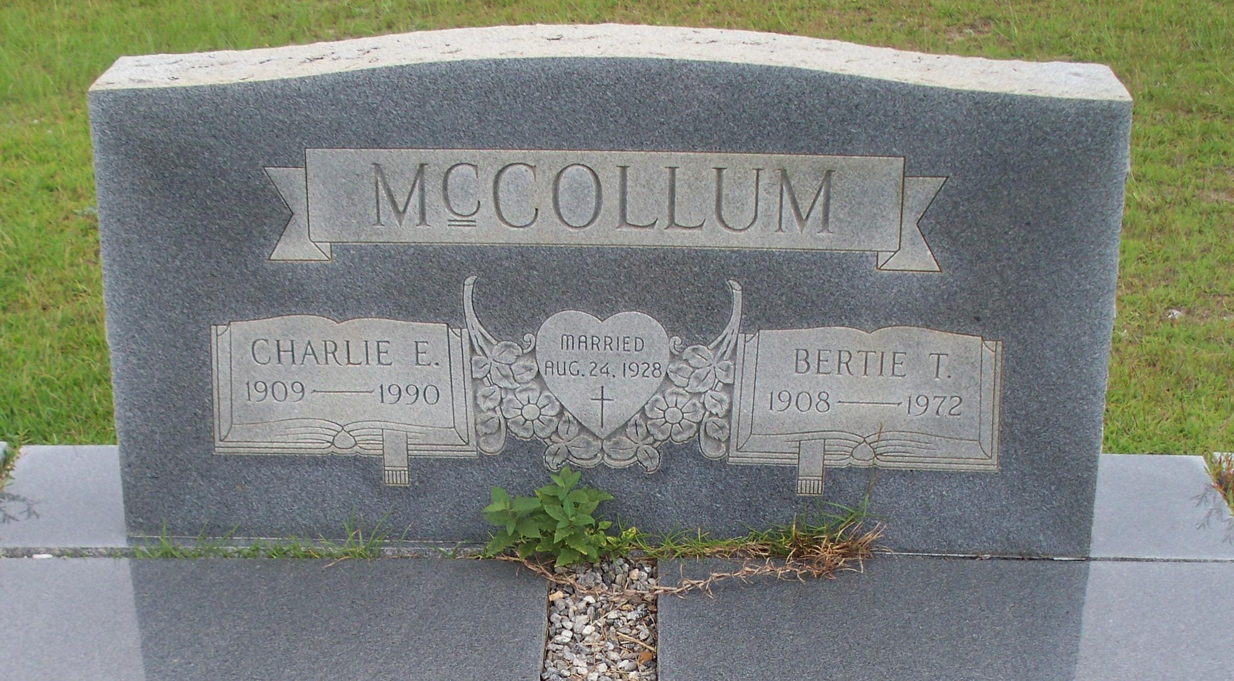 Charlie Edward McCollum