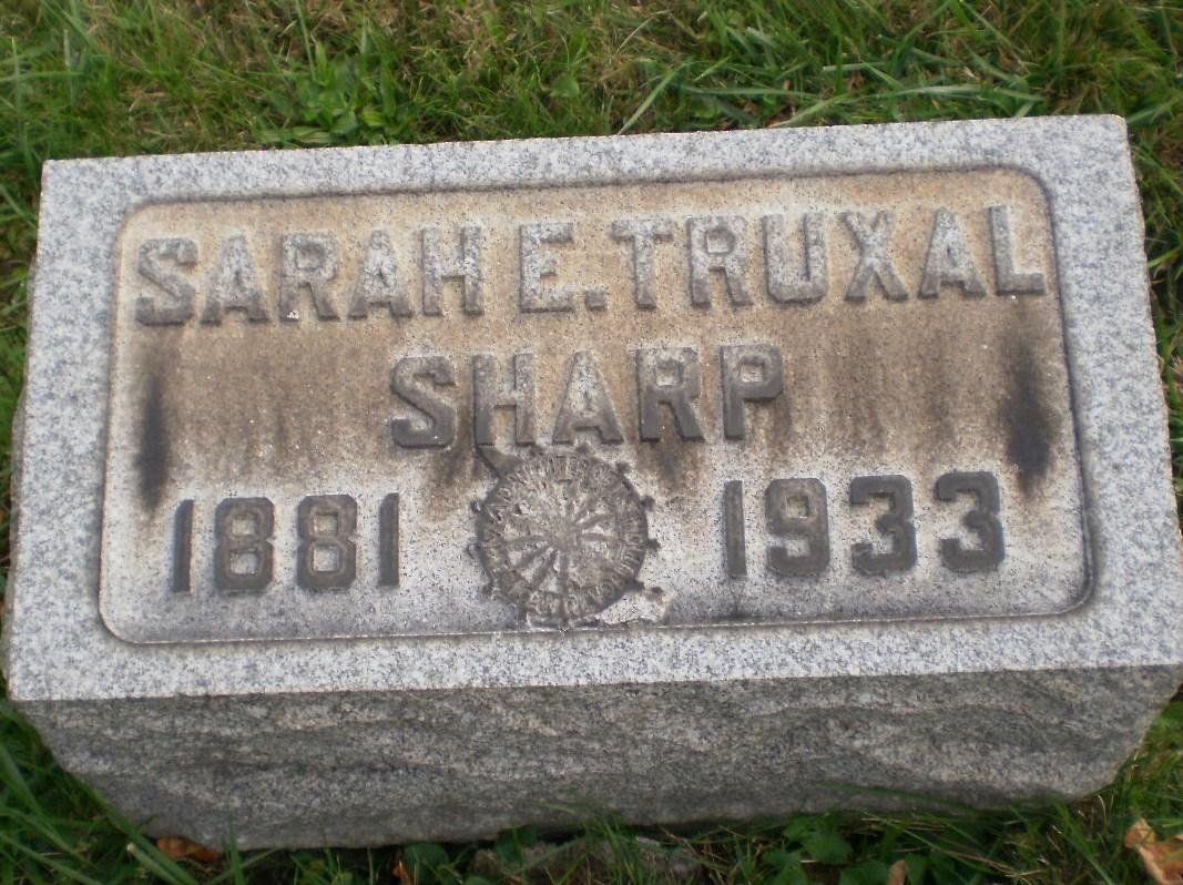 Sarah <i>Truxal</i> Sharp