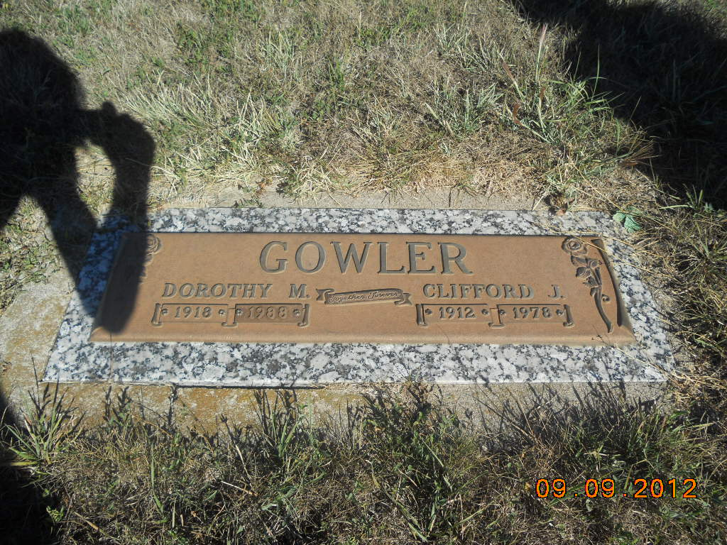 Dorothy M. Gowler
