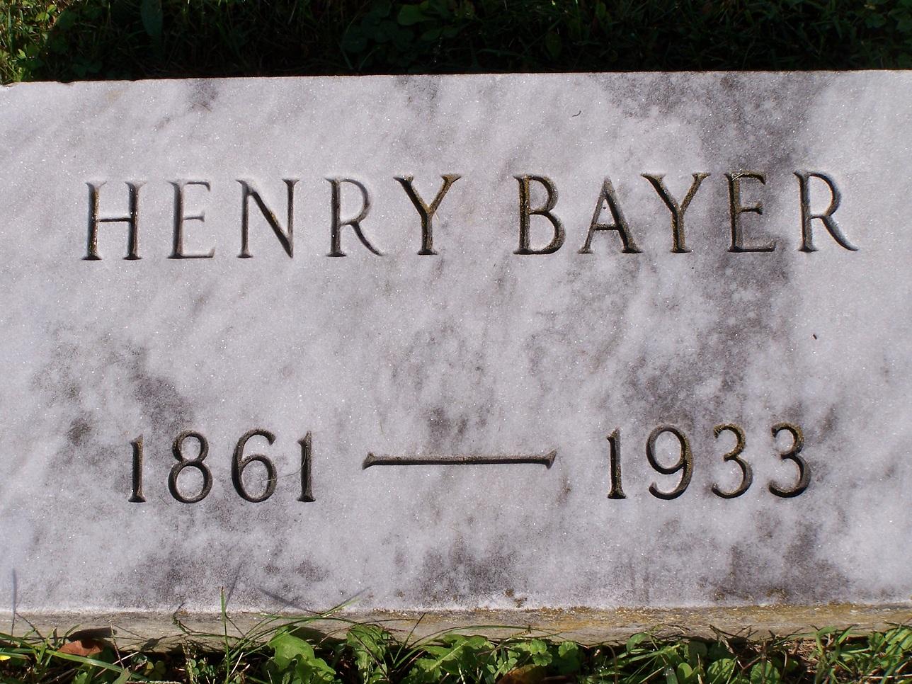 Henry Bayer