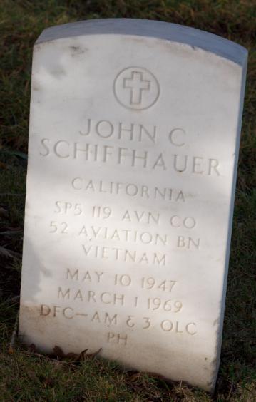 Spec John Charles Shifty Schiffhauer