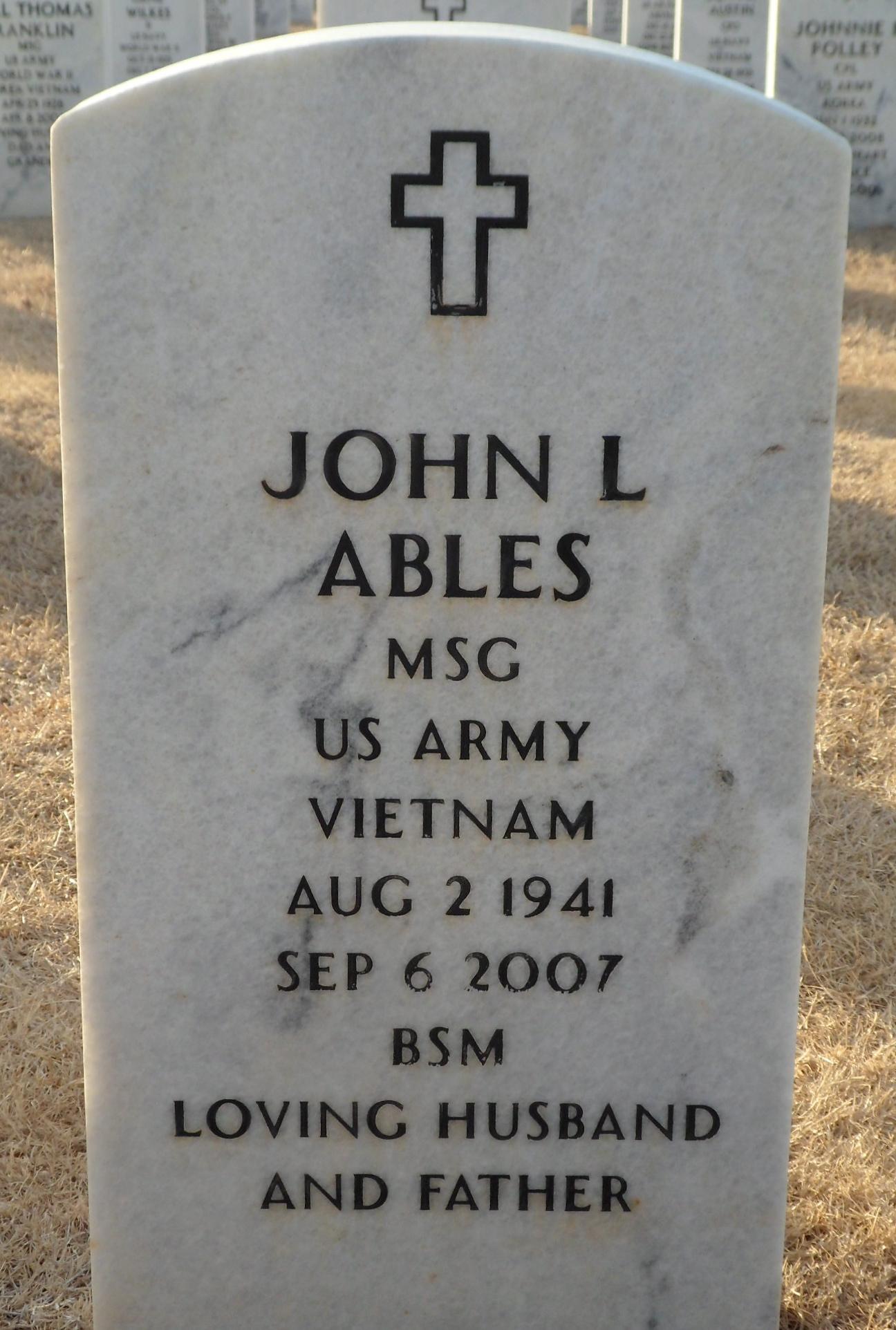 John L Ables
