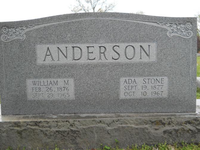 Ada <i>Stone</i> Anderson