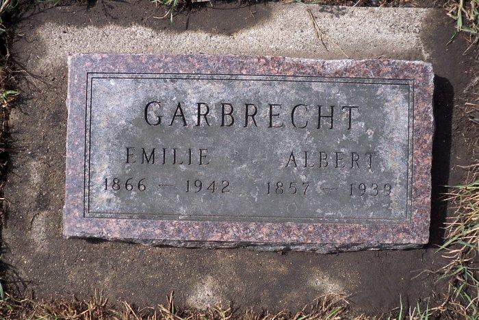 Emilie Augusta <i>Hackbarth</i> Garbrecht