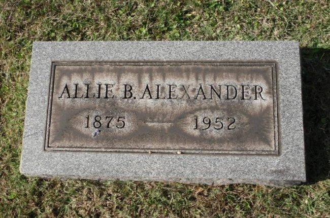 Aliquippa Allie <i>Bryan</i> Alexander