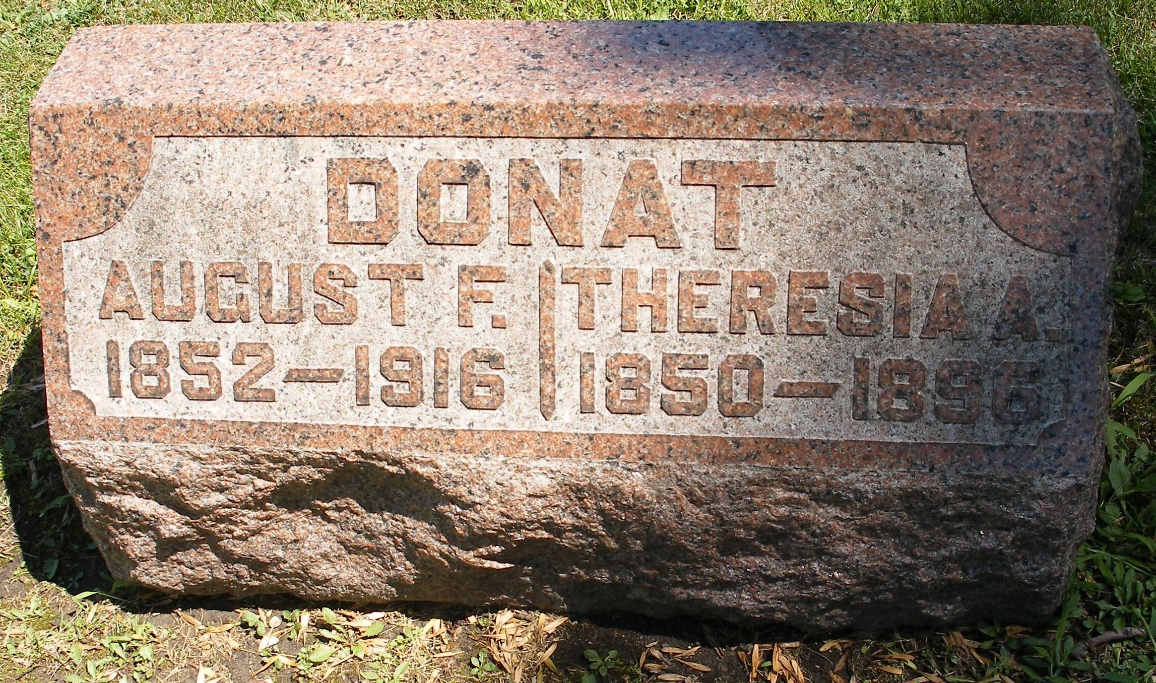 Theresia A. <i>Winkler</i> Donat