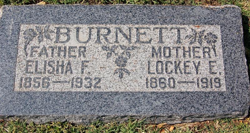 Lockey Elizabeth <i>Johnson</i> Burnett