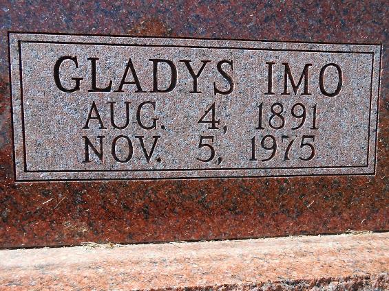 Gladys Imo <i>Goodridge</i> Butler