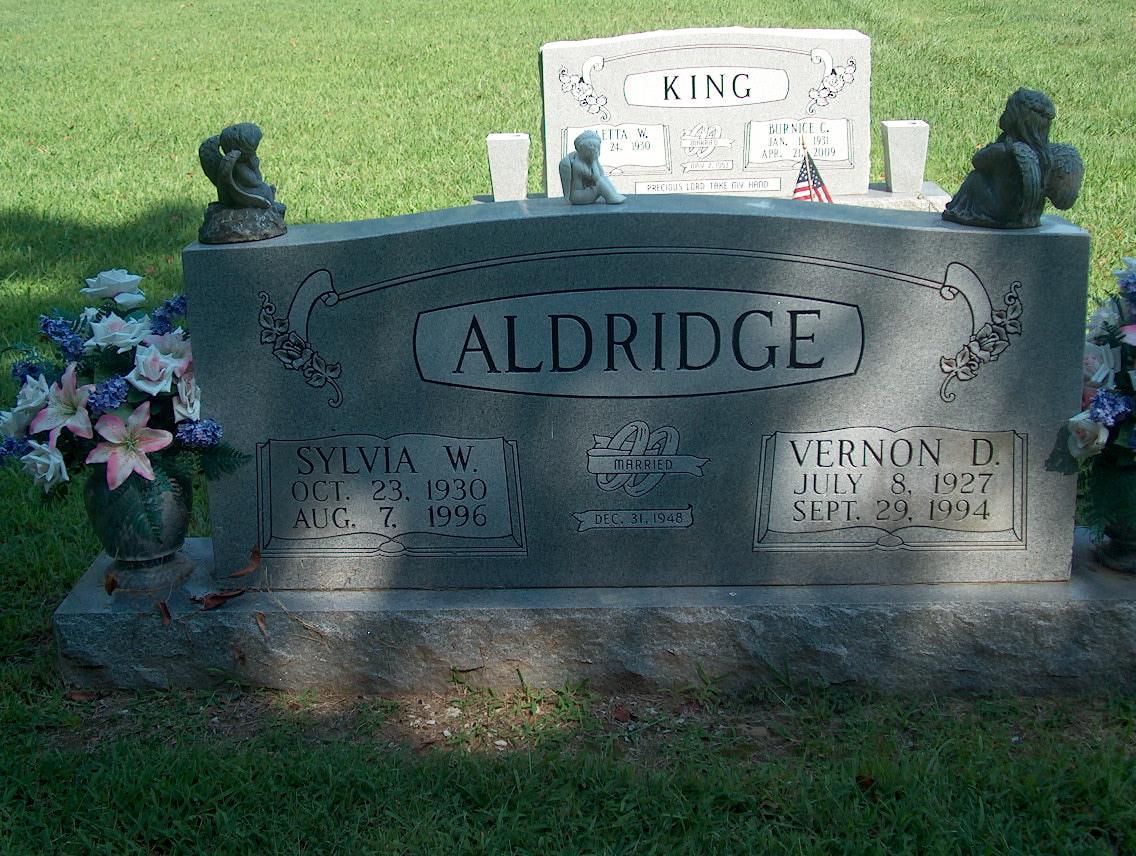 Sylvia Ruth <i>Wells</i> Aldridge
