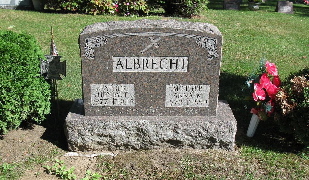 Anna M <i>Wazek</i> Albrecht
