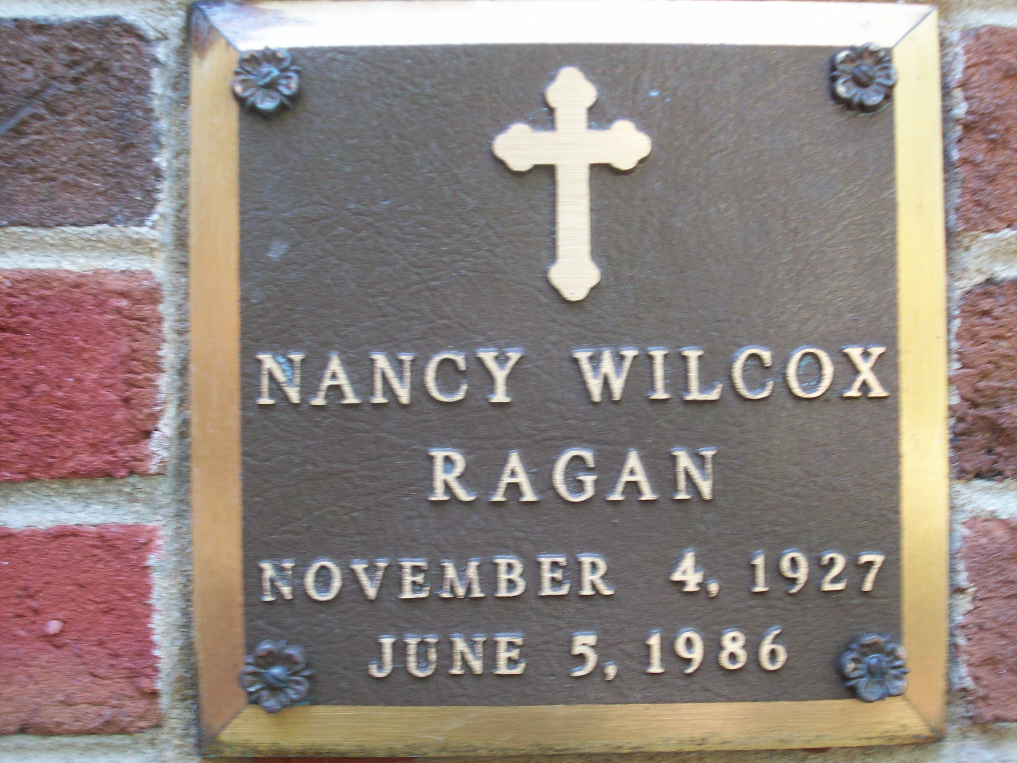 Nancy Wilcox Ragan