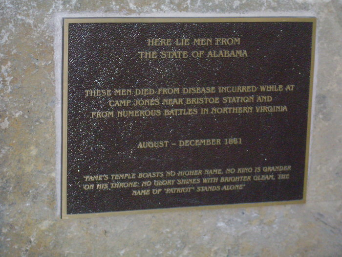 Alabama 10th Regiment Civil War Cemetery