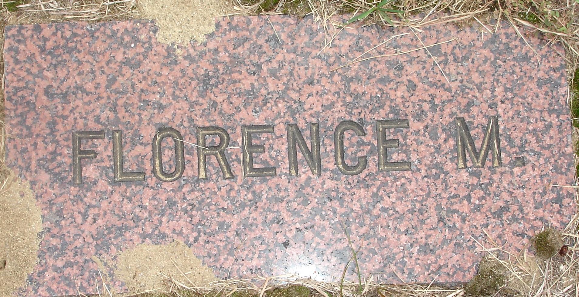 Florence M <i>Locke</i> Davis