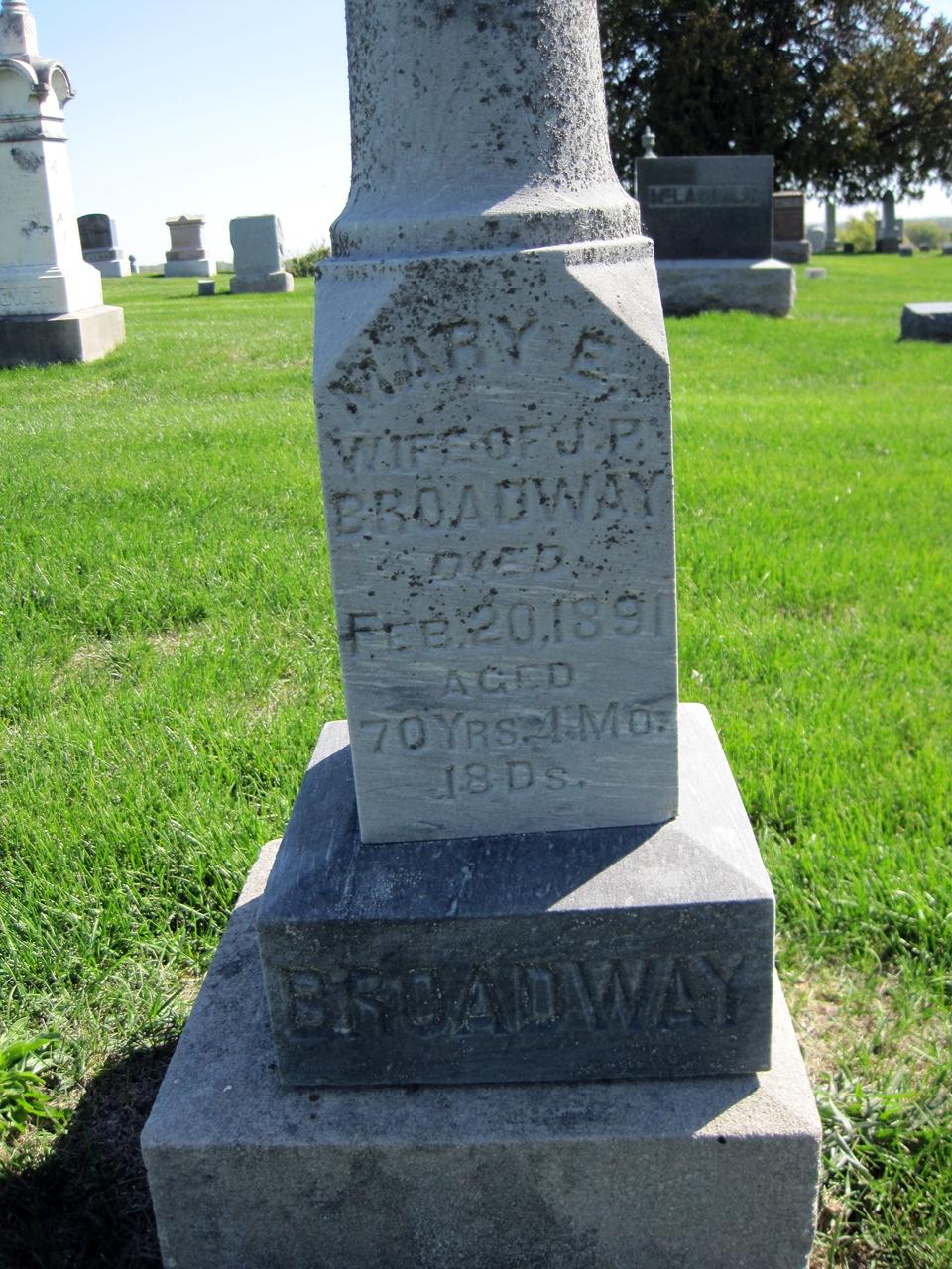 Mary E Broadway