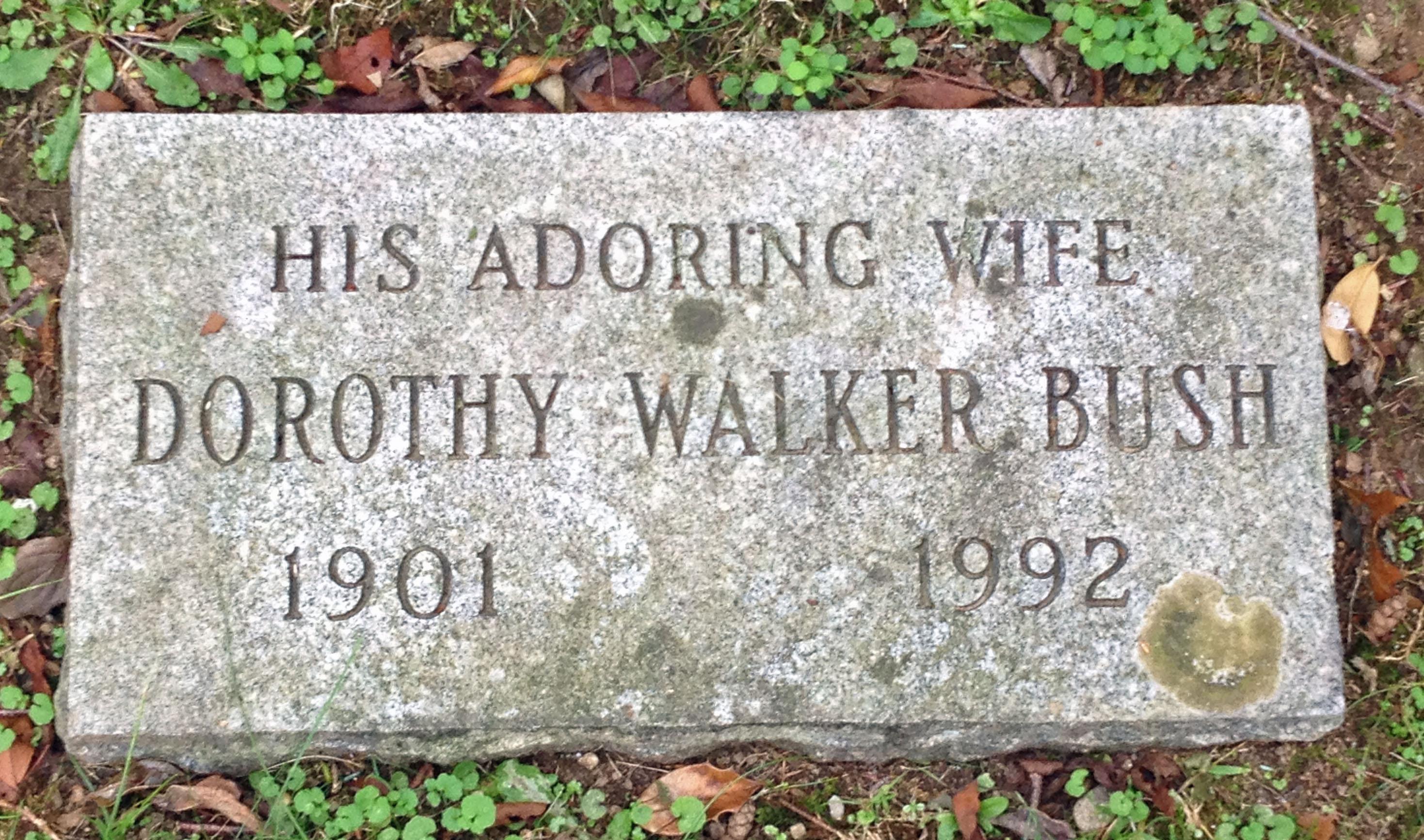 Dorothy <i>Walker</i> Bush