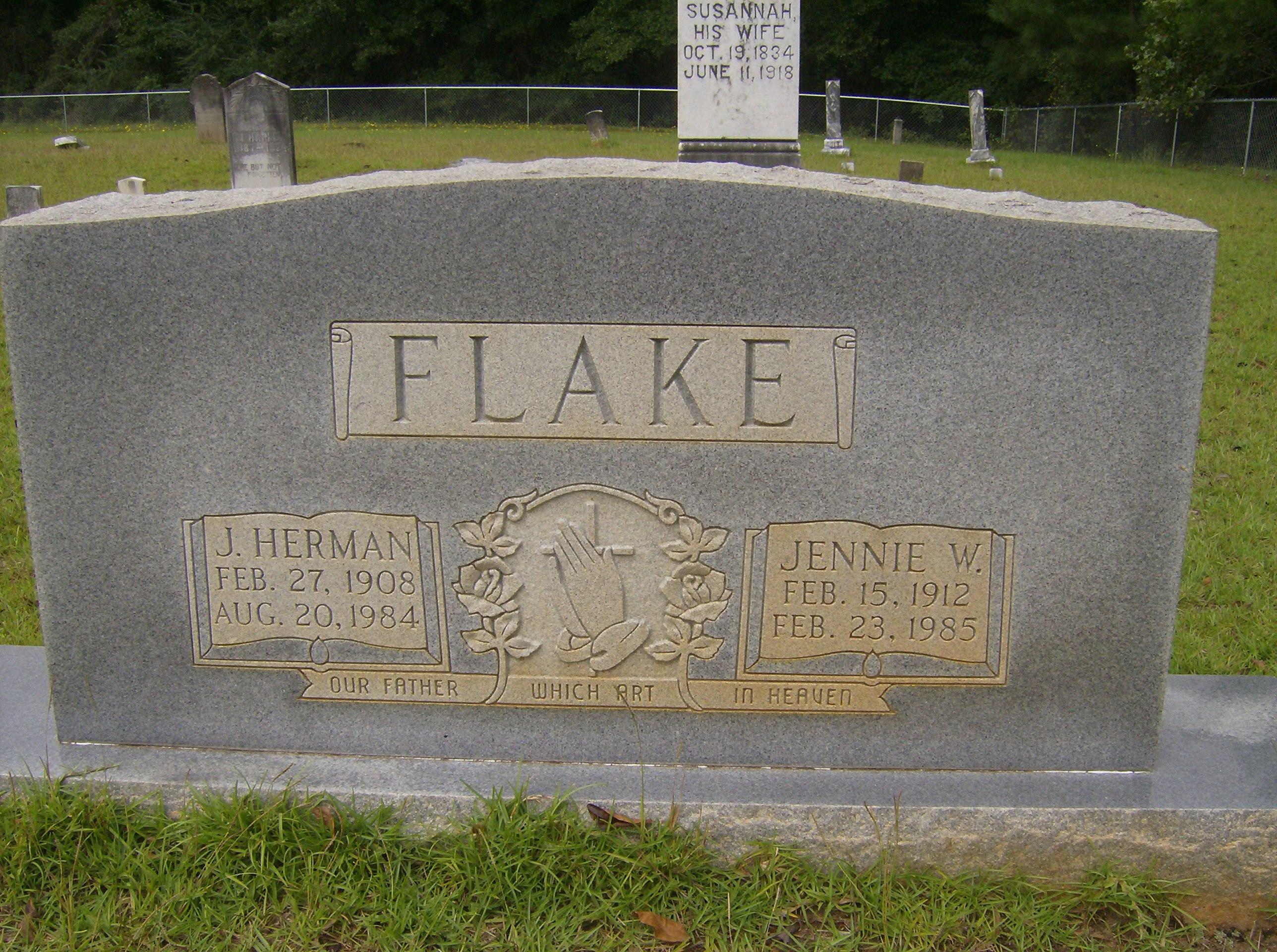 Jennie <i>Williams</i> Flake