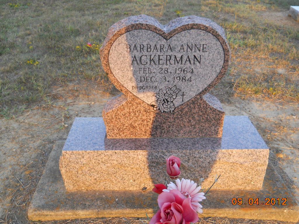 Barbara Anne Ackerman