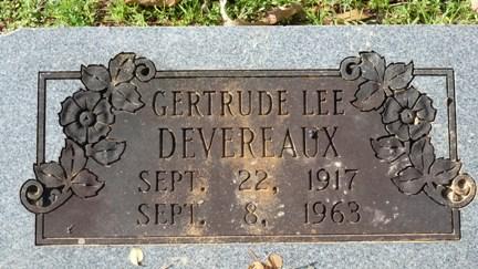 Gertrude Devereaux