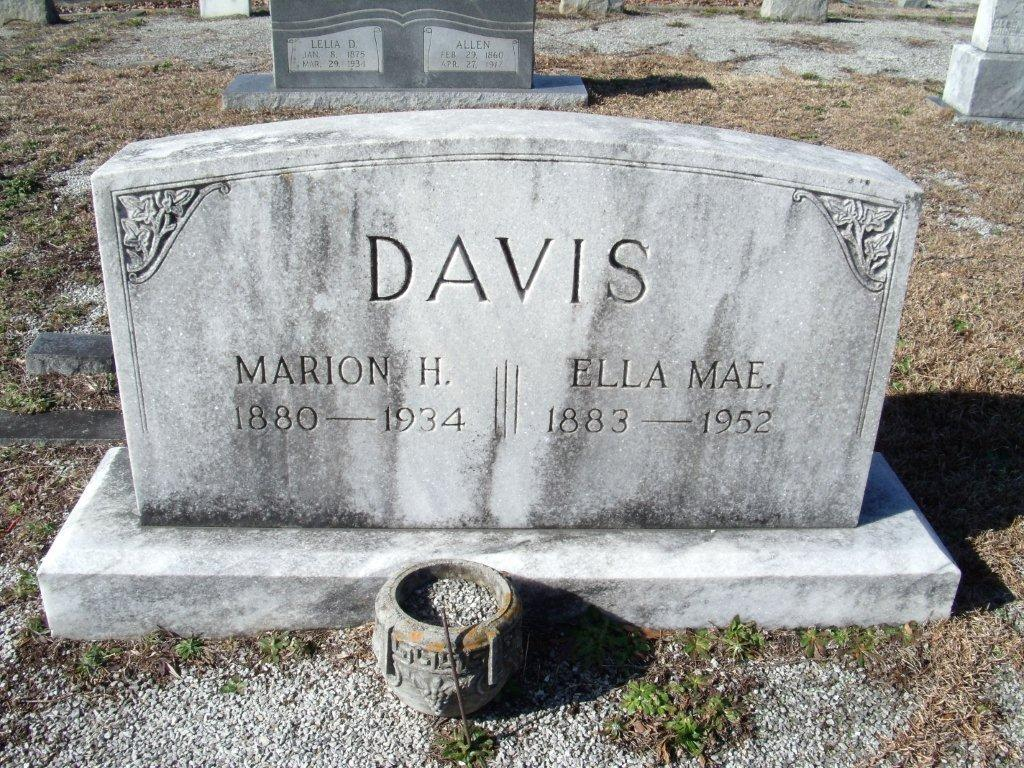Marion Hezekiah Davis