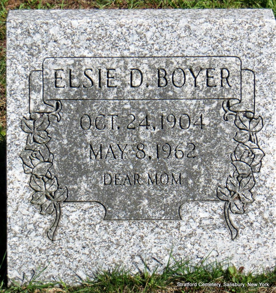 Elsie <i>Daley</i> Boyer