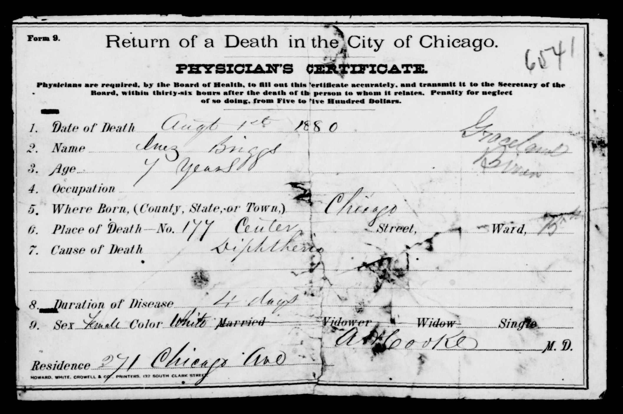 Inez Clarke 1873 1880 Find A Grave Memorial