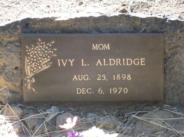 Ivy Lola <i>Billings</i> Aldridge