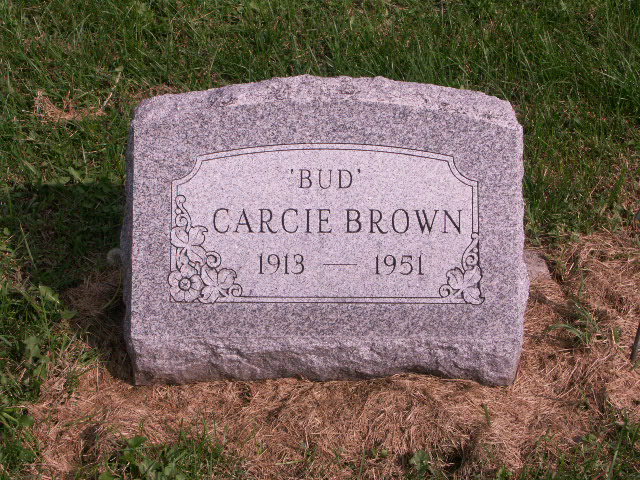 Carcie Bud Brown