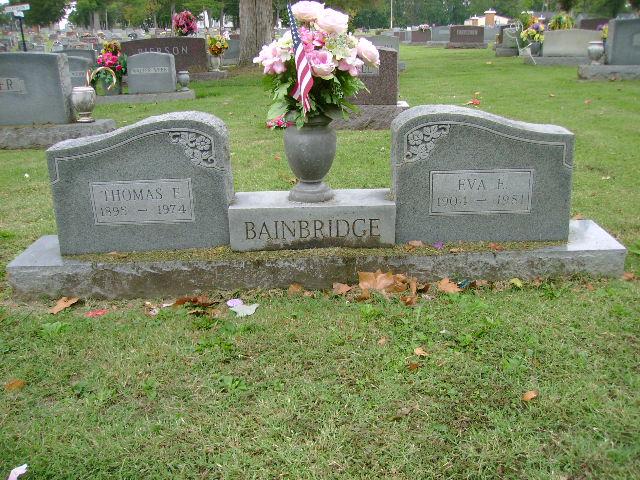 Thomas Earl Bainbridge