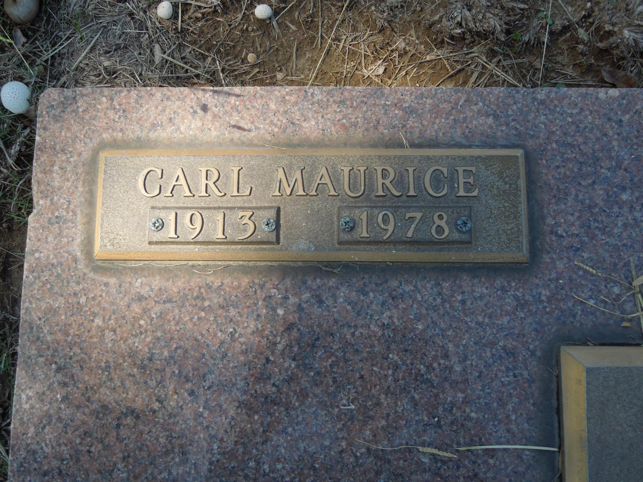 Carl Maurice Ward