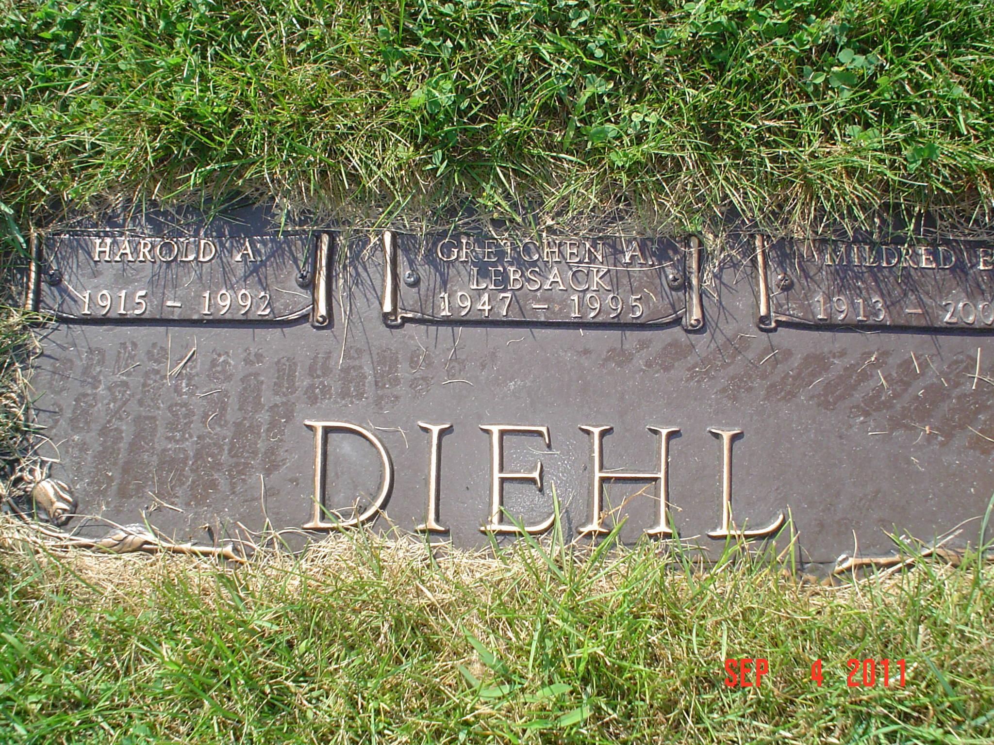 Harold A. Diehl