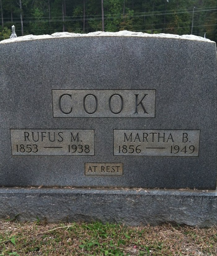 Martha Crawford <i>Bailey</i> Cook