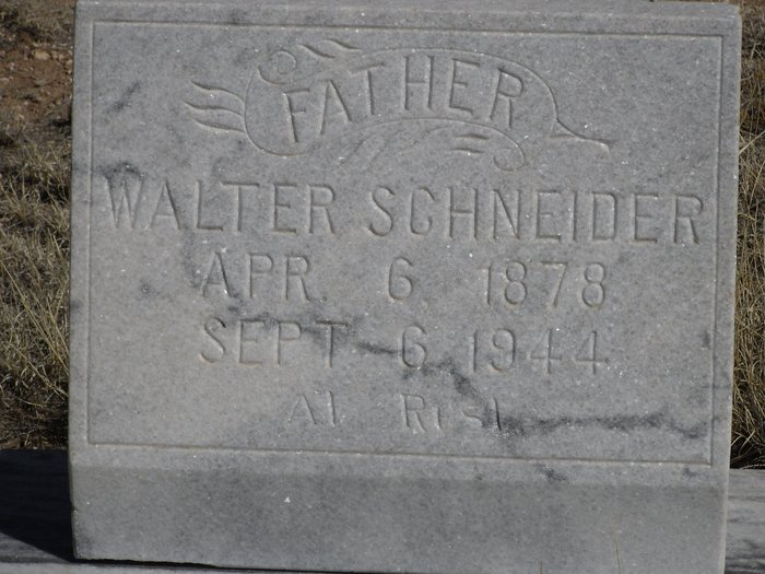 walter schneider 1878 1944 find a grave memorial. Black Bedroom Furniture Sets. Home Design Ideas