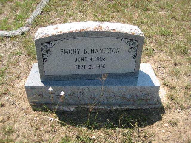 Emory Bernard Hamilton