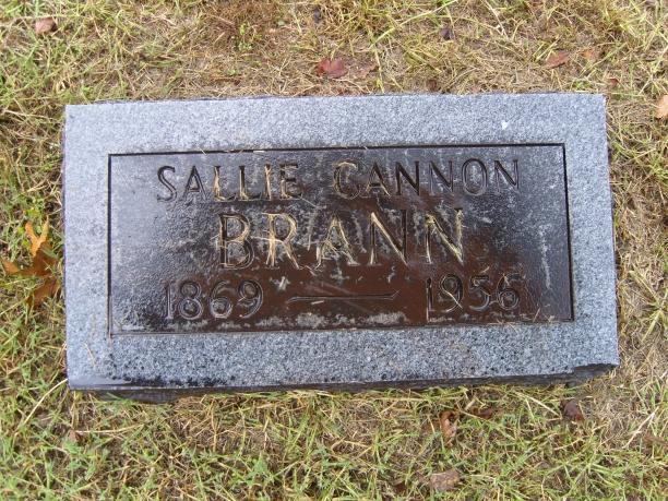 Sallie Pathenia <i>Cannon</i> Brann