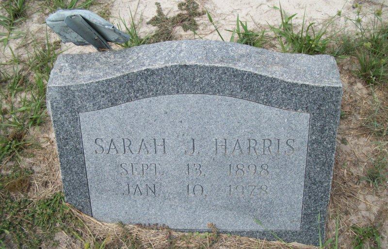 Sarah Jane <i>Moore</i> Harris