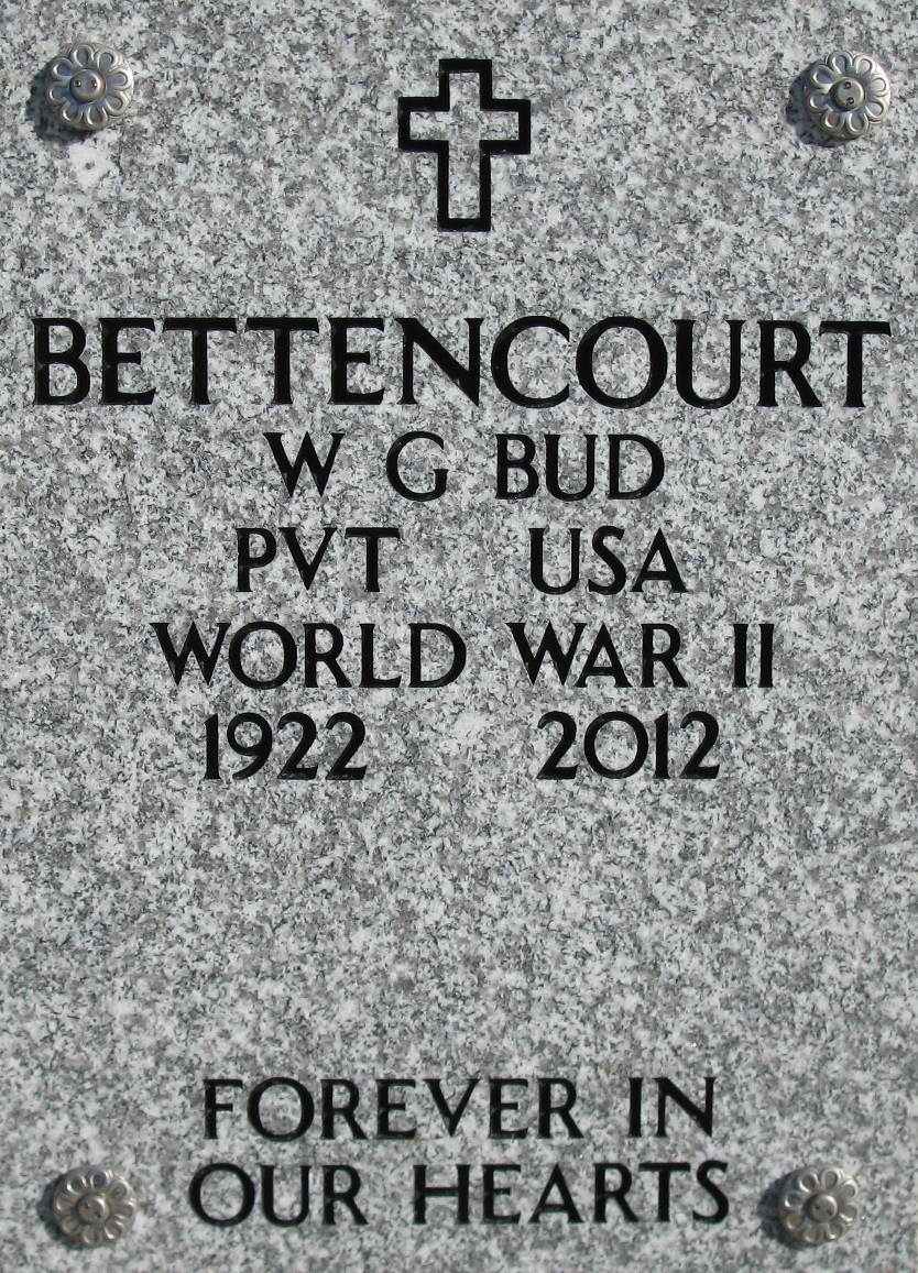 Wallace G Bud Bettencourt