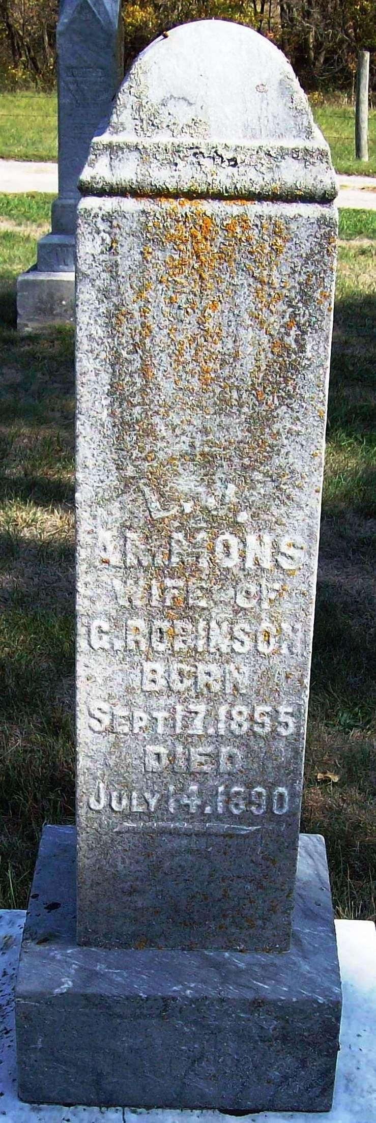 Louisa Jane <i>Ammons Conaway</i> Robison