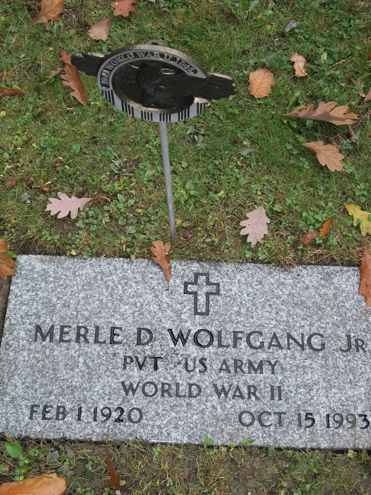 Merle David Wolfgang, Jr