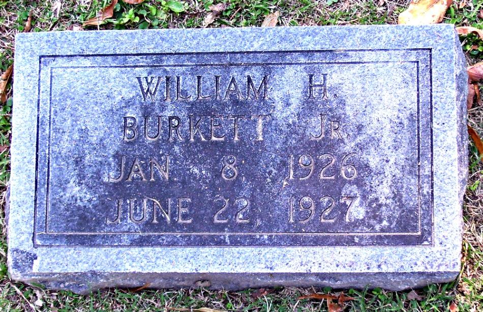 William H Burkett