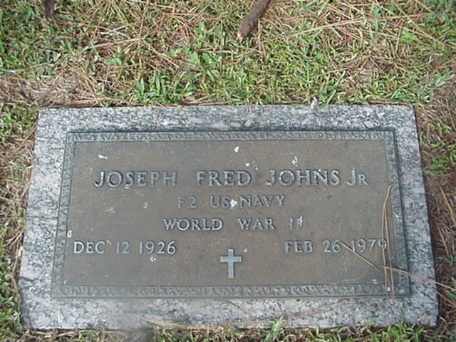 Joseph Fred Johns, Jr