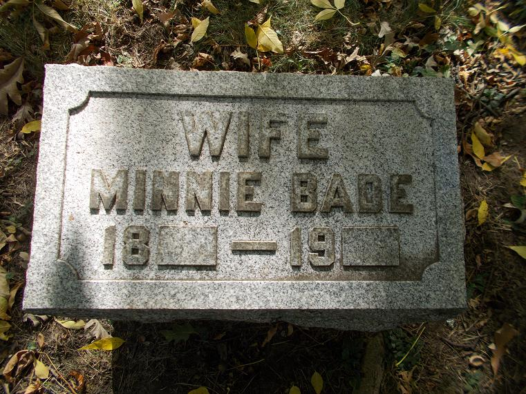 Minnie <i>Berner</i> Bade