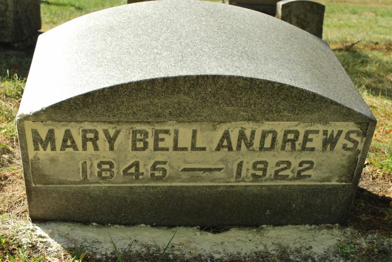 Mary <i>Bell</i> Andrews